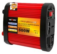 12V-220V Power Inverter 500W s kabel a ochranoul