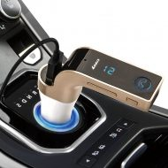 Bluetooth FM Transmitter, na USB a SD karty